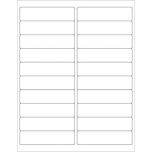 (Rectangle Removable Labels)