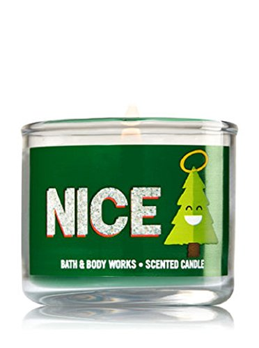 Bath & Body Works Mini Candle NICE Vanilla Bean Noel (Candle Noel)