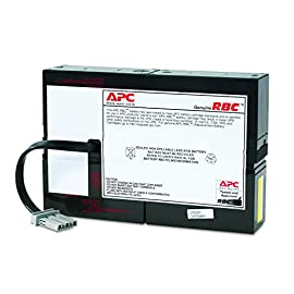 Apc ups battery replacement, rbc59, for apc smart-ups model sc1500 1 battery type: maintenance-free sealed lead-acid battery with suspended electrolyte - leakproof battery mounting: enclosed battery cabinet expected battery life: 3 ~ 5 years
