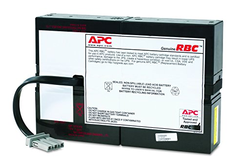 APC UPS Battery Replacement for APC Smart-UPS Model SC1500 (RBC59) 1 Battery Type: Maintenance-free sealed Lead-Acid battery with suspended electrolyte - leakproof Battery mounting: Enclosed battery cabinet Expected Battery Life: 3 ~ 5 years