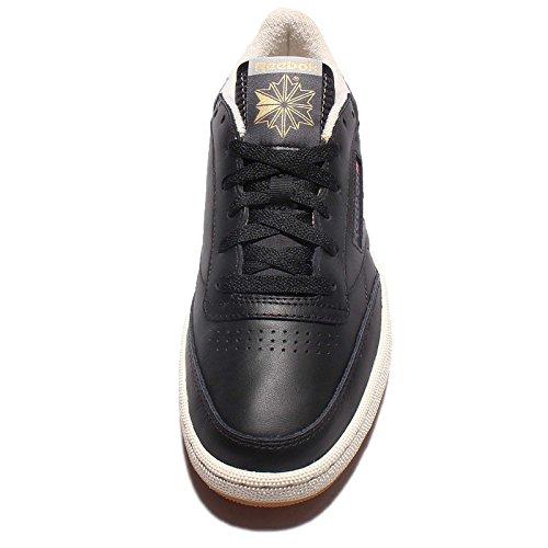 Zapatillas Reebok – Club C 85 Retro Gum negro/gris/blanco talla: 44,5