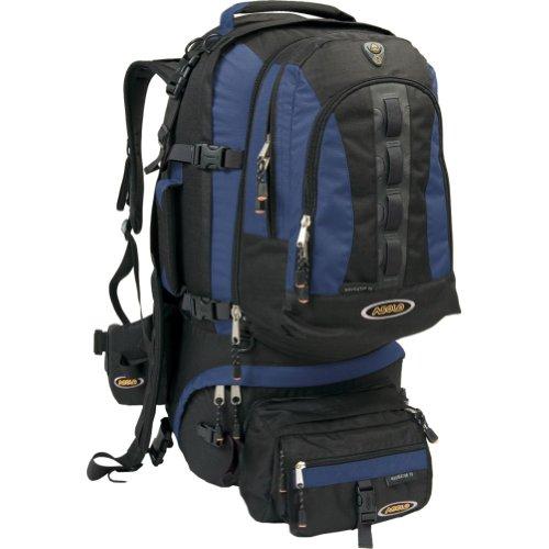 Asolo Navigator 70-Liter Travel Pack (Blue/Black), Outdoor Stuffs