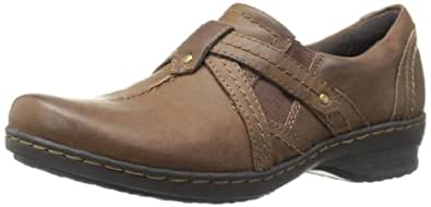 Clarks Women's Ideo Chilly Loafer,Brown,6 M US