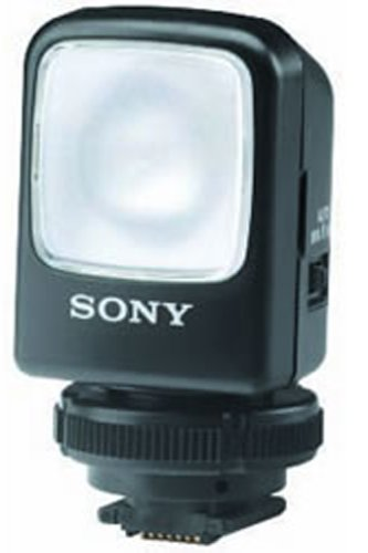 Sony HVL-S3D 3 Watt Video Light for DCR-DVD101/201/301 & DCR-HC40/65/85 & DCR-TRV38 by Sony