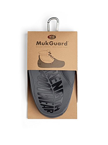 V12 Mukguard, Re-Usable Overshoe, XL (11/12 UK 46/47 EU), Grey