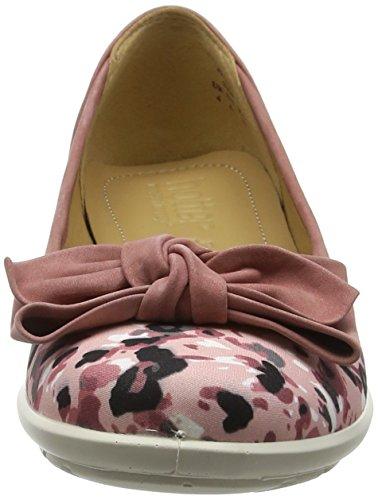 Pink Flats Hotter Jewel Women's Dappled Ballet Pink fHwAYwqB