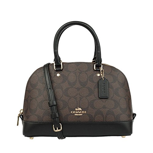 Inclined Sierra Purse Mini Handbag Women��s Shoulder Shoulder Black Satchel Brown Coach F8xTYEqww