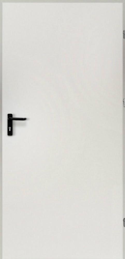 kuporta Stahlt/ür Kellert/ür Garagent/ür Mehrzweckt/ür Xaver anthrazit 77,0 x 201 cm DIN links au/ßen /öffnend inkl Dr/ückerset