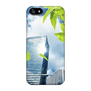 Maria N Young Case Cover Protector Specially Made For Iphone 5/5s Prosperous Metropolis