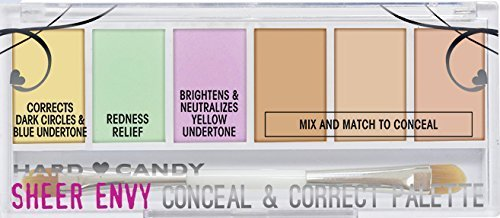Hard Candy Sheer Envy Conceal & Corrector Palette, 941 Light Medium by Hard Candy