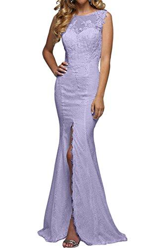 Lang Festlichkleider Abendkleider Brau Rock Lilac Promkleider Partykleider mia Meerjungfrau Spitze La Elegant Tanzenkleider Etuikleider 4xawq6zMRU