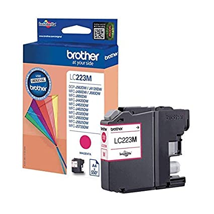 Brother LC223M - Cartucho de tinta, color magenta