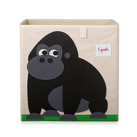 New Fabric Cube Storage Bin Gorilla