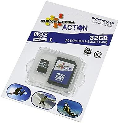 maxFlash Tarjeta de Memoria microSD 32GB para Samsung Galaxy Tab A 9.7 T550N, Clase 10;
