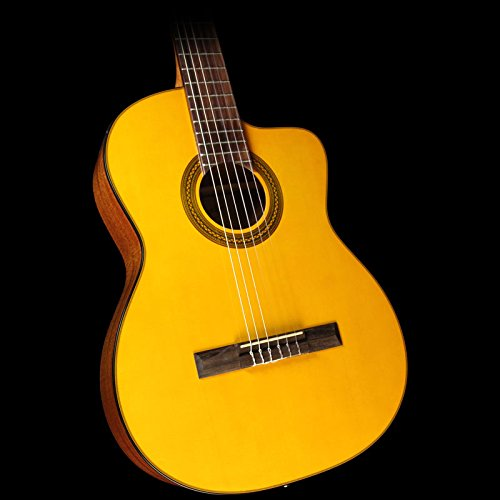 Takamine GC1CE NAT Classical Acoustic-Electric Guitar, Natur
