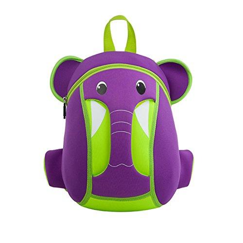 Nohoo 3D Elephant Kids Backpack Cartoon Preschool Toddler Bag