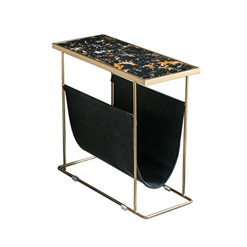 - KTYXDE North European Sofa Edge A Few Simple and Modern Creative Corner Table Marble Mini Coffee Table Folding Table (Color : #1)