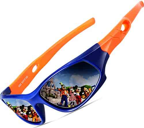 0bf591b94a0b ATTCL Kids Hot TR90 Polarized Sports Sunglasses For Boys Girls Child Age  3-12