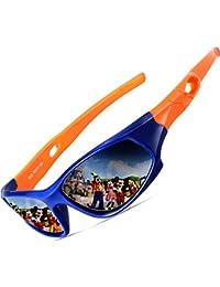 Kids Hot TR90 Polarized Sports Sunglasses For Boys Girls Child Age 3-12