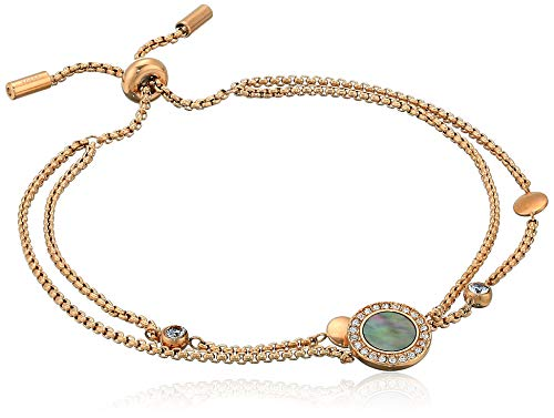 - Fossil Women's Gray Mother-of-Pearl Bracelet, One Size