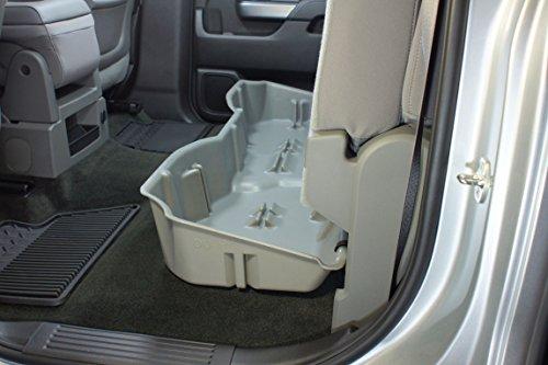 du ha under seat storage fits 14 17 chevrolet gmc silverado sierra light duty heavy duty crew. Black Bedroom Furniture Sets. Home Design Ideas