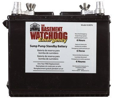 Basement Watchdog battery 24EP6 by Larsen Supply from Larsen Supply