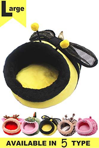 JanYoo Rabbit Small Animal Bed Ferret Cage Accessories Toys Lizard Habitat Hammock
