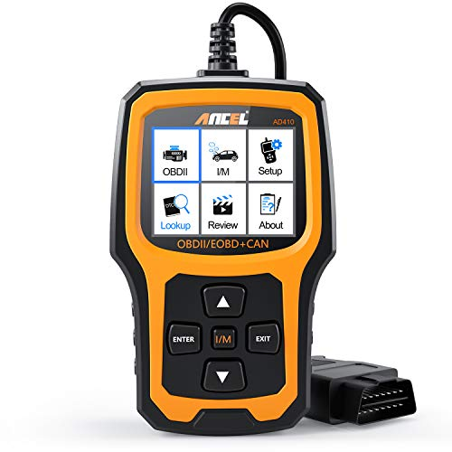 ANCEL AD410 Enhanced OBD II Vehicle Code Reader Automotive OBD2 Scanner Auto Check Engine Light Scan Tool Emission Analyzer