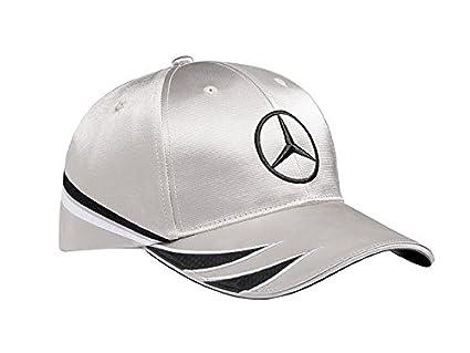 Gorra para hombre, plata negro original Mercedes Benz DTM.: Amazon ...