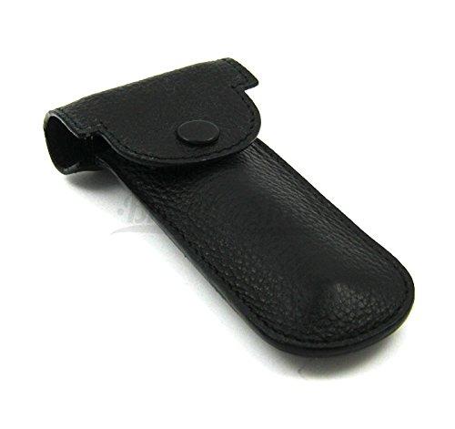 Genuine Leather Double Edge Safety Razor Protective/Travel Case with Felt Lining Parker Safety Razor