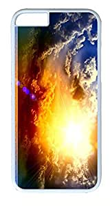 iPhone 6 Plus Cases, ACESR Plastic Hard Case Cover for Apple iPhone 6 Plus (5.5inch Screen) White Border Summer...
