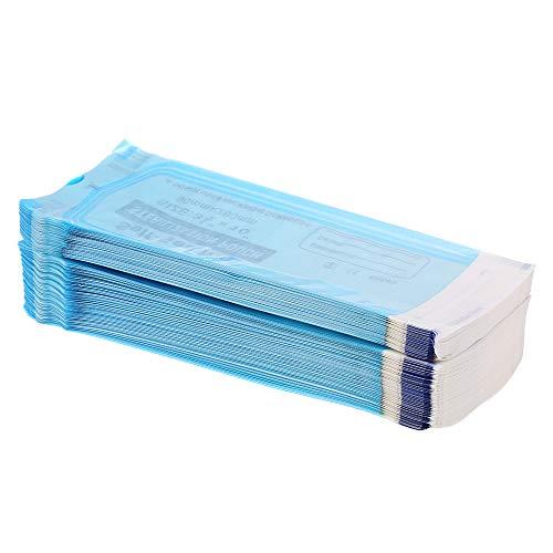 Festnight 200Pcs/Pack Self Sealing Pouch Medical Grade Paper Disposable Dental Tattoo Tool Storage Bag 26090mm