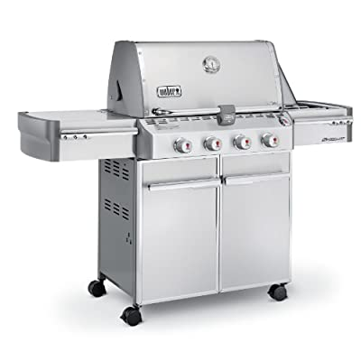 Weber Summit S-420 Stainless-Steel 650-Square-Inch Grill