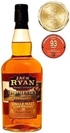 Jack Ryan Jack Ryan TOOMEVARA 10 Years Old Single Malt Irish Whiskey Calavados Finish 46% Vol. 0,7l in Giftbox - 700 ml