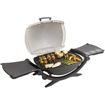 weber q 200 portable propane grill silver. Black Bedroom Furniture Sets. Home Design Ideas