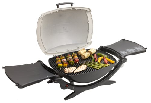 Weber Holzkohlegrill Q Serie : Amazon weber q portable propane grill silver series