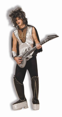 Awesome 80s Halloween Costumes (Rock On 80s Adult Costume (Fits up to 42