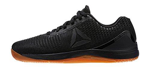 Reebok Women's Crossfit Nano 7.0 Track Shoe Black, Ash Grey, Chalk, Gum