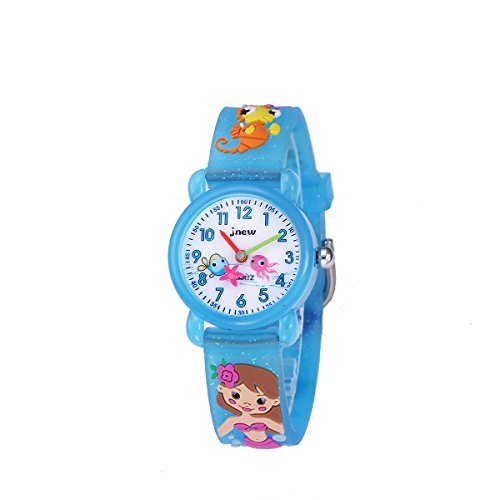 Kids Watches,3D Waterproof Cartoon Children Strap Watch Time Teacher Gifts for Boys Girls by Bingostyle