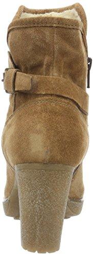 Manas Ladies Sand Boots Breve Marrone (legno)