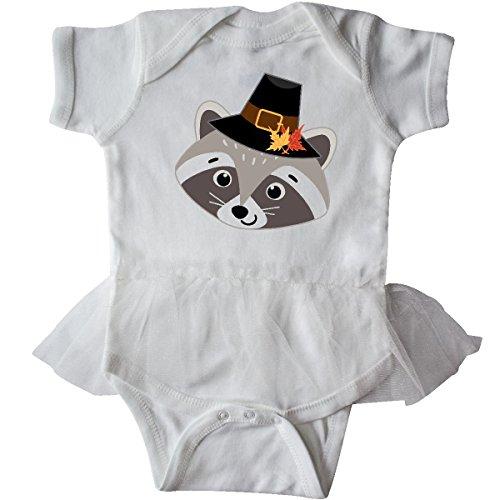 Inktastic - Thanksgiving Pilgrim Woodland Raccoon Infant Tutu Bodysuit