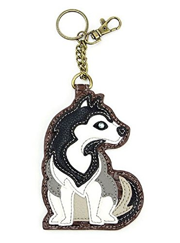Chala Decorative Coin Purse/Key-Fob (Huskey)