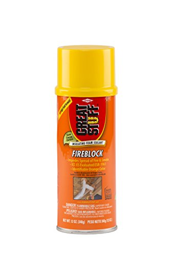- GREAT STUFF Fireblock 12 oz Insulating Foam Sealant