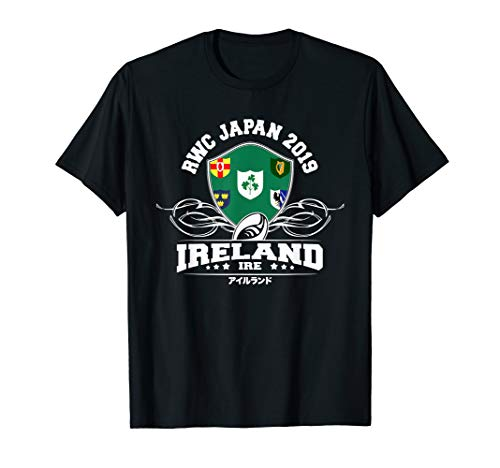 Japan Rugby Ireland Flag Supporter 2019 Fan Shirt