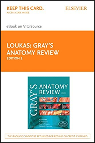 Grays Anatomy Review Elsevier Ebook On Vitalsource Retail Access
