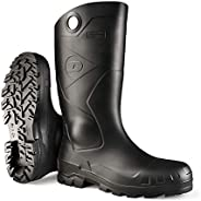 Dunlop 8677610 Chesapeake Boots with Safety Steel Toe, Waterproof PVC, Lightweight and Durable Protective Foot