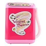 Mini Cute Makeup Brush Washing Machine Electric Makeup Brush Spinner for Clean Cosmetic Brushes Mini Type(Pink)