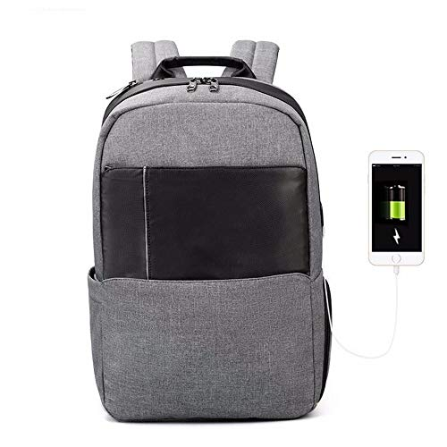 TDPYT Computer Umhängetasche Seite Business USB-Buchse Umhängetasche Spritzwasser Rucksack