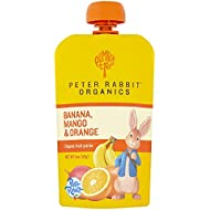 Peter Rabbit Organics Banana, Mango and Orange Puree...