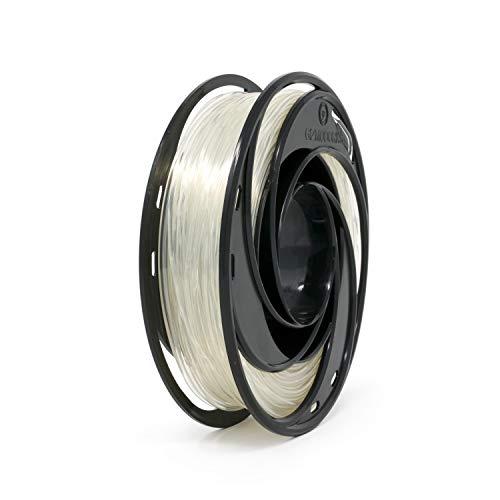 Filamento de nylon Gizmo Dorks para impresoras 3D 3 mm (2,85 mm) 200 g, transparente natural